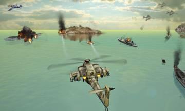 много денег Вертолетная атака 3D