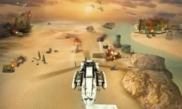 взломанная Вертолетная атака 3D