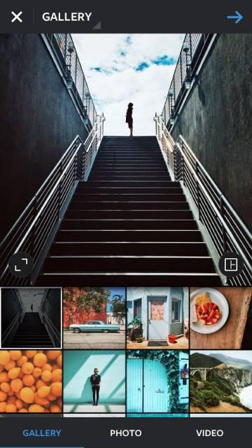 Instagram на андроид