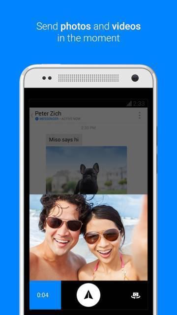 Messenger на андроид