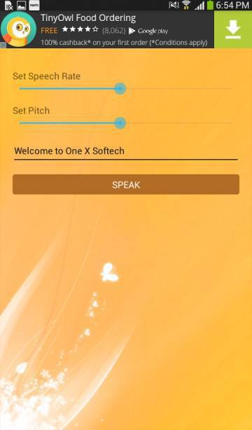 Имя абонента Диктор на андроид