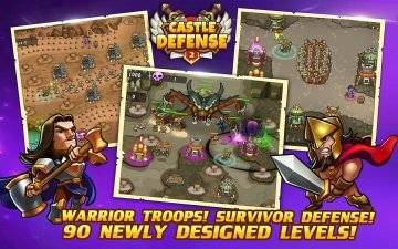 Castle Defense 2 много денег