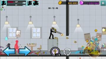 Anger of Stick 5 много денег