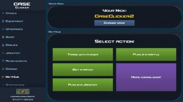 Case Clicker 2 читы