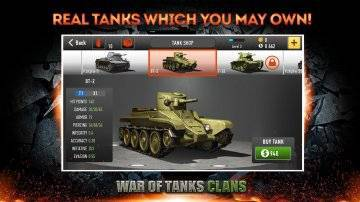 War of Tanks: Clans скачать