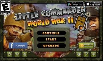 Маленький командир: WWII TD взломанный