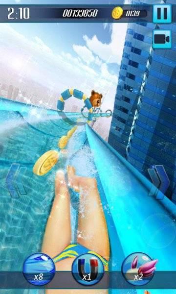 Водные горки 3D скачать