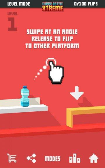 Flippy Bottle Extreme взломанный