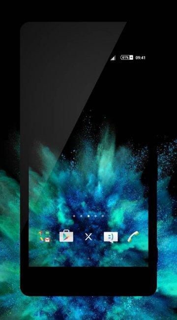 xBlack - Teal Theme скачать