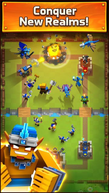 Royale Clans Clash of Wars андроид